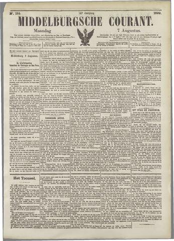 Middelburgsche Courant 1899-08-07