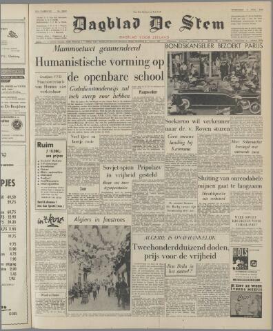 de Stem 1962-07-04