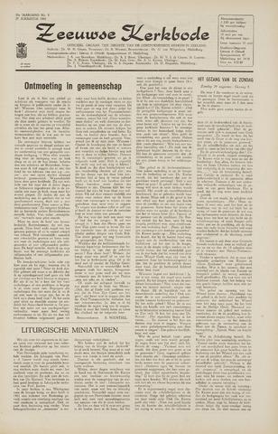 Zeeuwsche kerkbode, weekblad gewijd aan de belangen der gereformeerde kerken/ Zeeuwsch kerkblad 1965-08-27