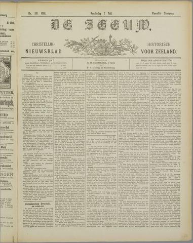 De Zeeuw. Christelijk-historisch nieuwsblad voor Zeeland 1898-07-07