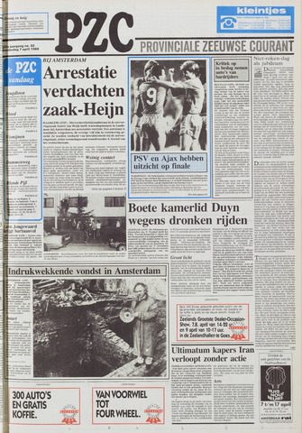 Provinciale Zeeuwse Courant 1988-04-07