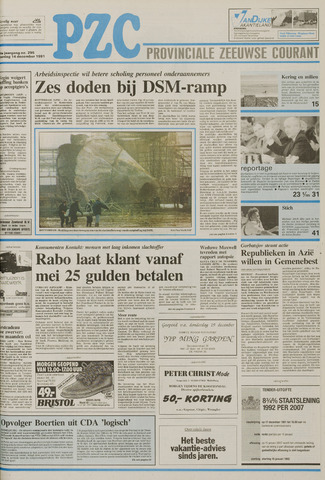 Provinciale Zeeuwse Courant 1991-12-14