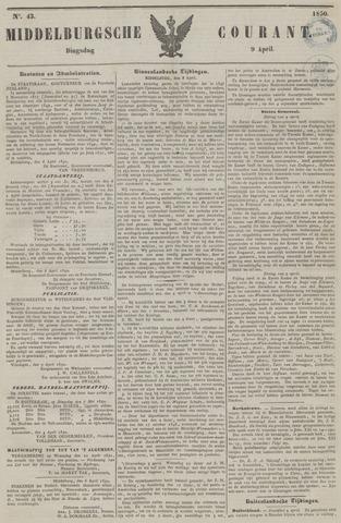 Middelburgsche Courant 1850-04-09