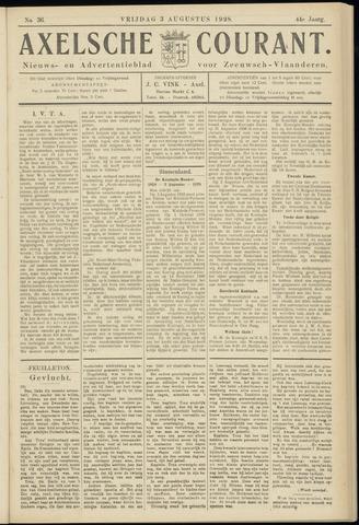 Axelsche Courant 1928-08-03