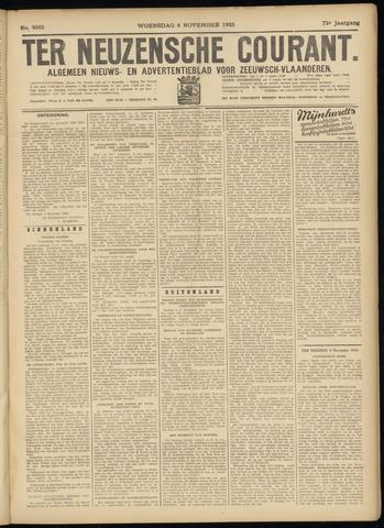 Ter Neuzensche Courant. Algemeen Nieuws- en Advertentieblad voor Zeeuwsch-Vlaanderen / Neuzensche Courant ... (idem) / (Algemeen) nieuws en advertentieblad voor Zeeuwsch-Vlaanderen 1933-11-08
