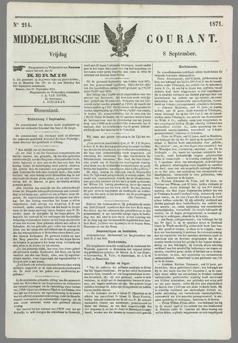 Middelburgsche Courant 1871-09-08