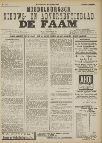 de Faam en de Faam/de Vlissinger 1904-09-21