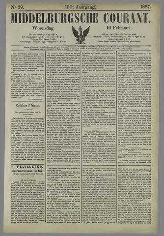 Middelburgsche Courant 1887-02-16