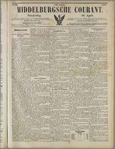 Middelburgsche Courant 1903-04-30