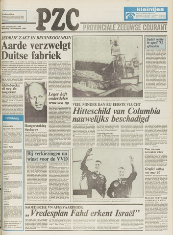 Provinciale Zeeuwse Courant 1981-11-16