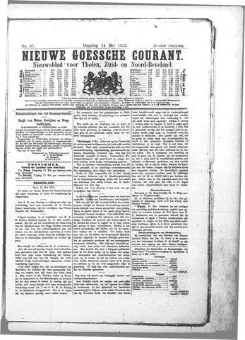 Nieuwe Goessche Courant 1872-05-14