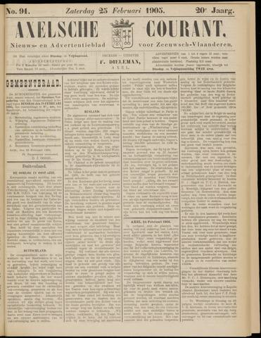 Axelsche Courant 1905-02-25