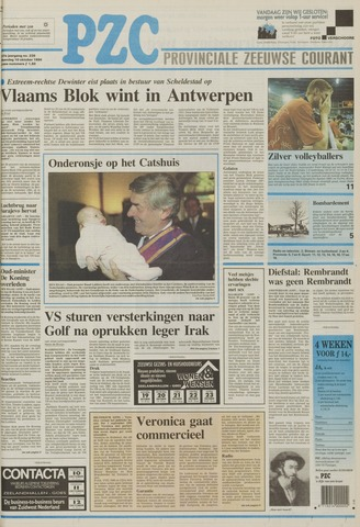Provinciale Zeeuwse Courant 1994-10-10
