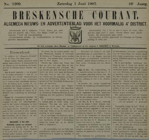 Breskensche Courant 1907-06-01
