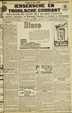 Ierseksche en Thoolsche Courant 1927-06-03