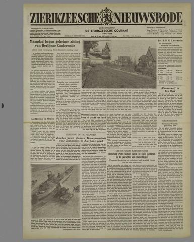Zierikzeesche Nieuwsbode 1954-02-09