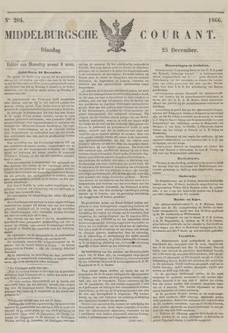 Middelburgsche Courant 1866-12-25
