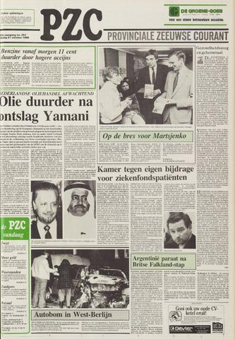 Provinciale Zeeuwse Courant 1986-10-31