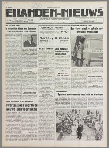 Eilanden-nieuws. Christelijk streekblad op gereformeerde grondslag 1976-09-21
