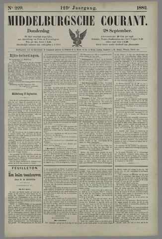 Middelburgsche Courant 1882-09-28