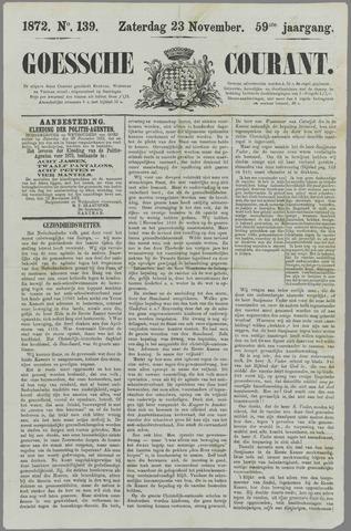 Goessche Courant 1872-11-23