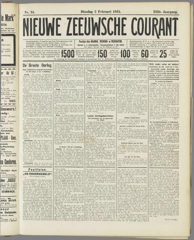 Nieuwe Zeeuwsche Courant 1915-02-02