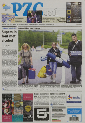 Provinciale Zeeuwse Courant 2011-06-11