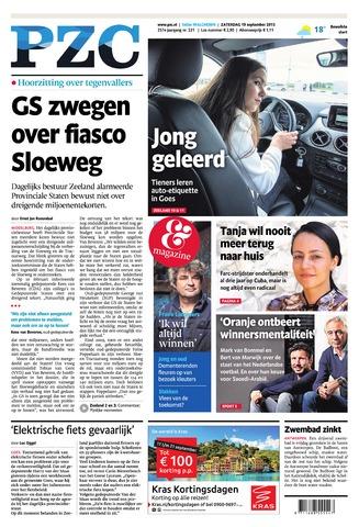 Provinciale Zeeuwse Courant 2015-09-19