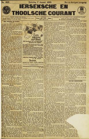 Ierseksche en Thoolsche Courant 1922