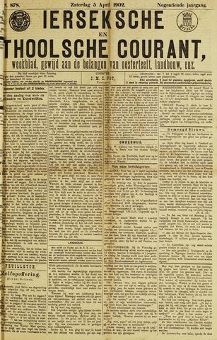 Ierseksche en Thoolsche Courant 1902-04-05