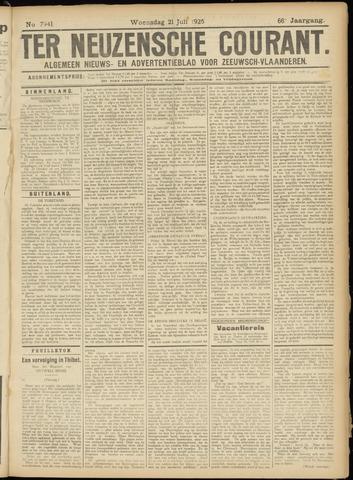 Ter Neuzensche Courant. Algemeen Nieuws- en Advertentieblad voor Zeeuwsch-Vlaanderen / Neuzensche Courant ... (idem) / (Algemeen) nieuws en advertentieblad voor Zeeuwsch-Vlaanderen 1926-07-21