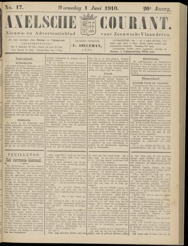 Axelsche Courant 1910-06-01