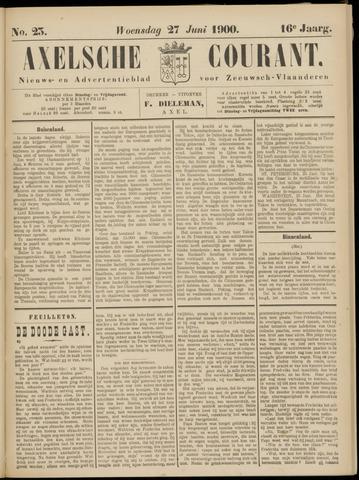 Axelsche Courant 1900-06-27