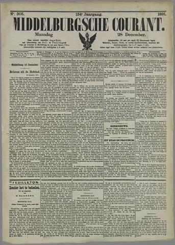 Middelburgsche Courant 1891-12-28