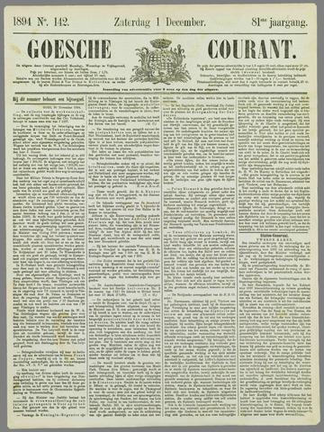 Goessche Courant 1894-12-01
