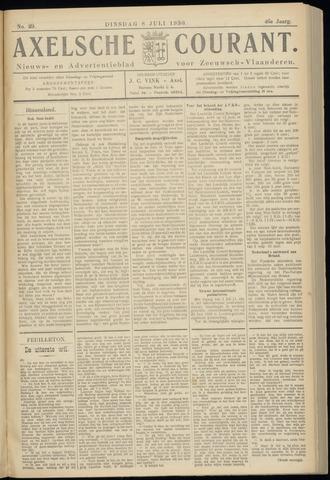 Axelsche Courant 1930-07-08