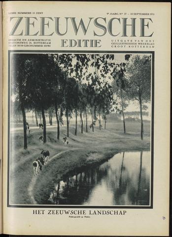 Ons Zeeland / Zeeuwsche editie 1931-09-18