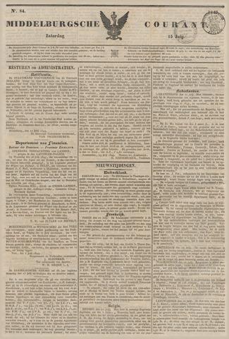 Middelburgsche Courant 1843-07-15