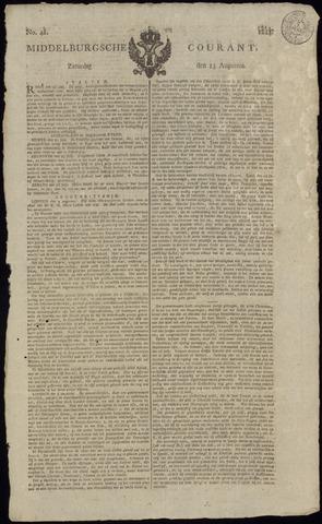 Middelburgsche Courant 1814-08-13