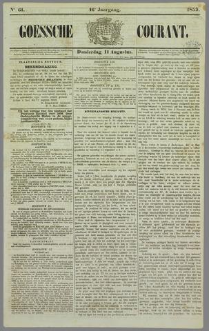 Goessche Courant 1859-08-11