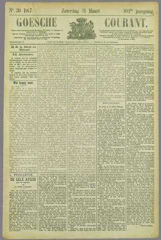 Goessche Courant 1917-03-31