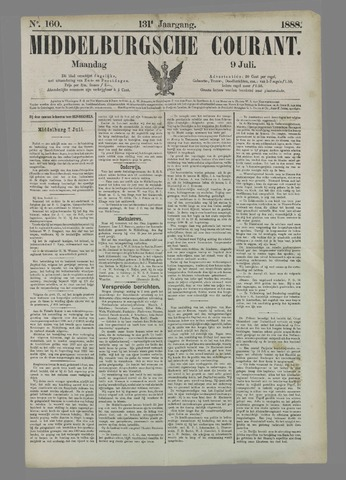 Middelburgsche Courant 1888-07-09