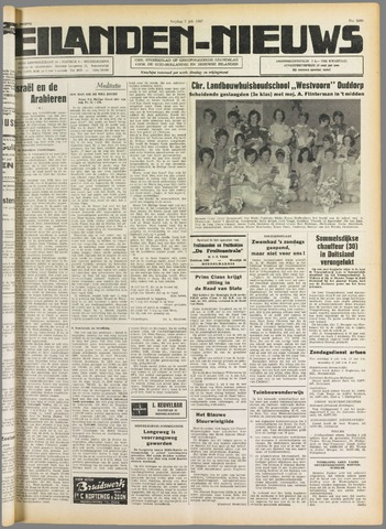 Eilanden-nieuws. Christelijk streekblad op gereformeerde grondslag 1967-07-07