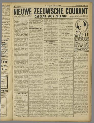 Nieuwe Zeeuwsche Courant 1921-02-22
