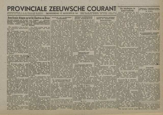 Provinciale Zeeuwse Courant 1944-08-17