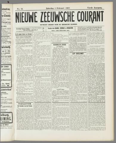 Nieuwe Zeeuwsche Courant 1908-02-01