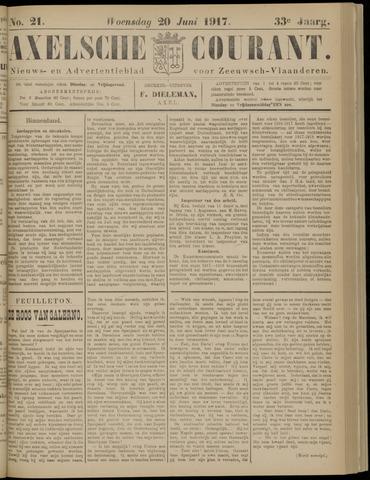 Axelsche Courant 1917-06-20