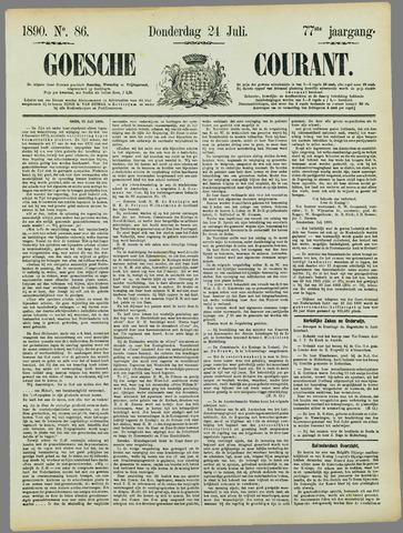 Goessche Courant 1890-07-24