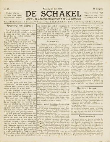 De Schakel 1945-07-23