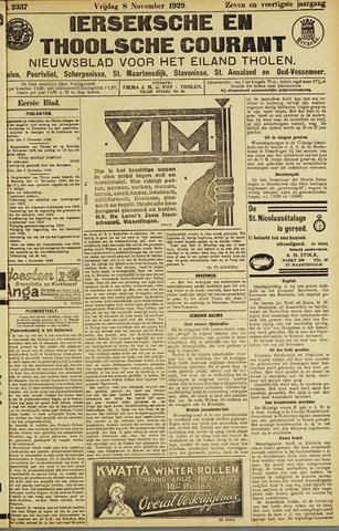 Ierseksche en Thoolsche Courant 1929-11-08